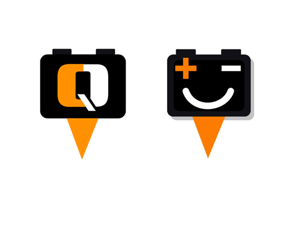 Pictogrammen QuickCharger